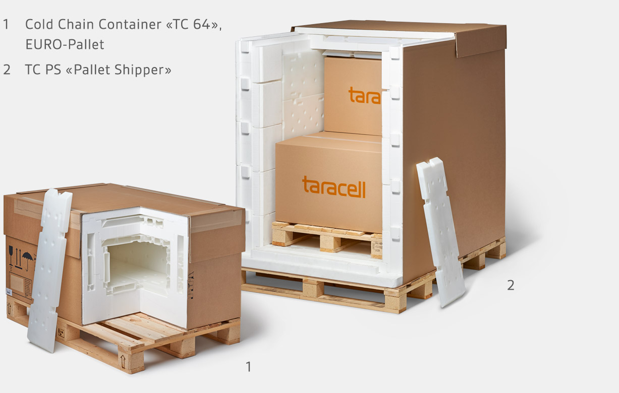 Cold Chain Container Pallet Shipper